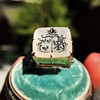 'Pineapple Family Crest' Chalcedony Ring, by Seal & Scribe 22