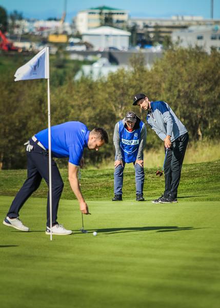 GKS, Jóhann Már Sigurbjörnsson Íslandsmót í golfi 2019 - Grafarholt 2. keppnisdagur Mynd: seth@golf.is