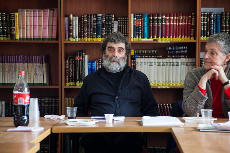 Gershom Gorenberg, historically rigorous critic of West Bank settlements.