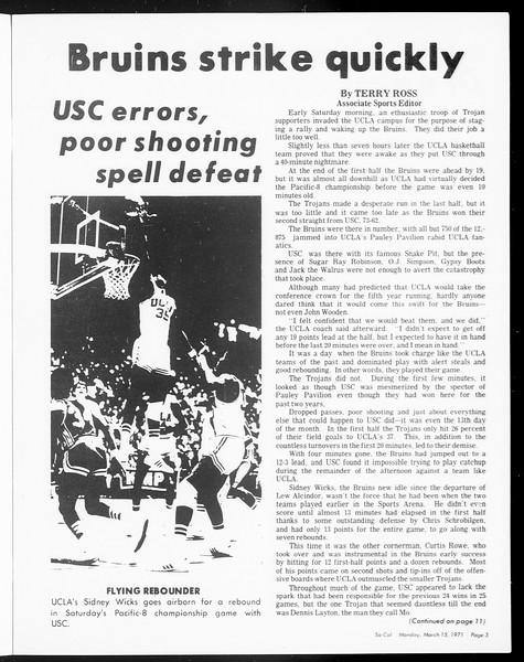 SoCal, Vol. 62, No. 88, March 15, 1971