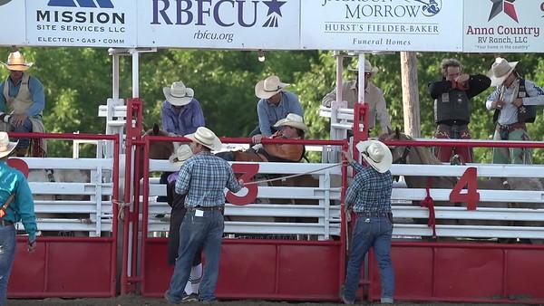 Bareback Saturday Night Blue Ridge Rodeo