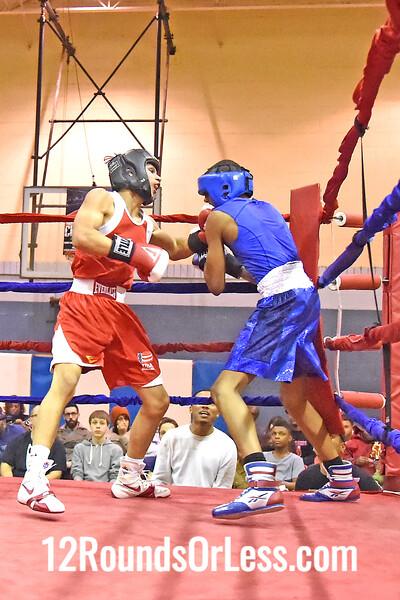 Bout 8  Main Event, Leon Lawson, 15 Yrs, 134 Lbs, Flint, MI -vs- Brandon Vega, 16 Yrs, 138 Lbs, Cleveland