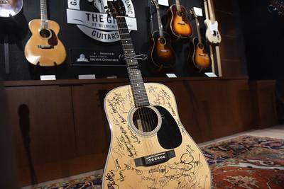 Ken Burns unveils two Martin D 28 Guitars