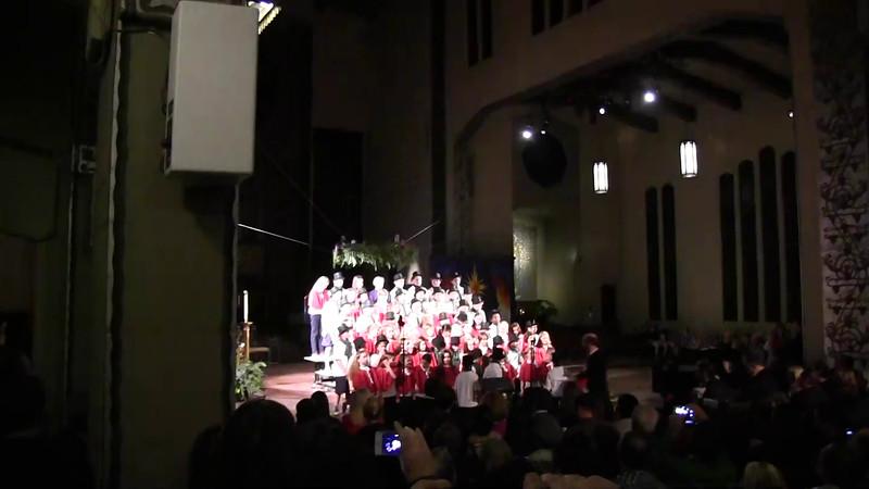 St. Joes Christmas Concert 2014