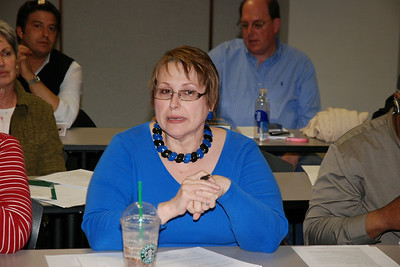 Executive Board Meeting,  April 18, 2008