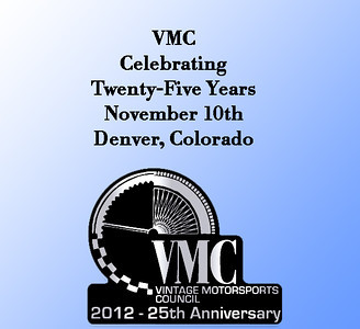 VMC 25th Anniversary - 2012
