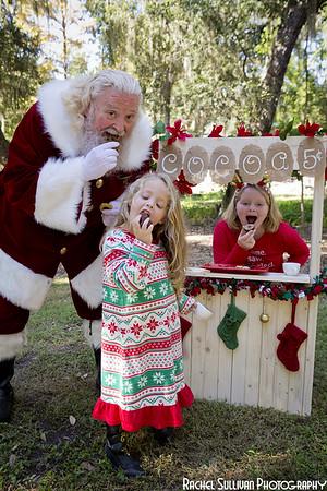 Santa 2019: Sarah and Hazel