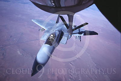USAF McDonnell Douglas F-15 Eagle Aerial Refueling Pictures