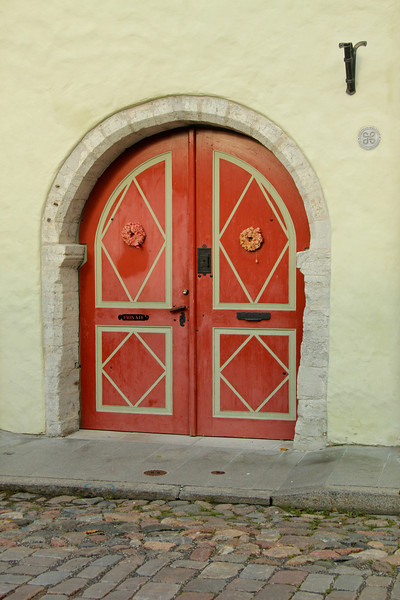 Beautiful doorway -Tallinn, Estonia