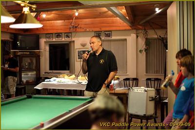 VKC Paddle Power Awards 2009