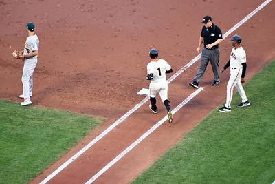 SF Giants vs Oakland A's Battle of the Bay 8.13.2019