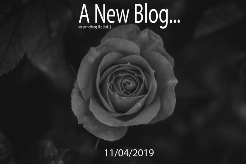 A New Blog