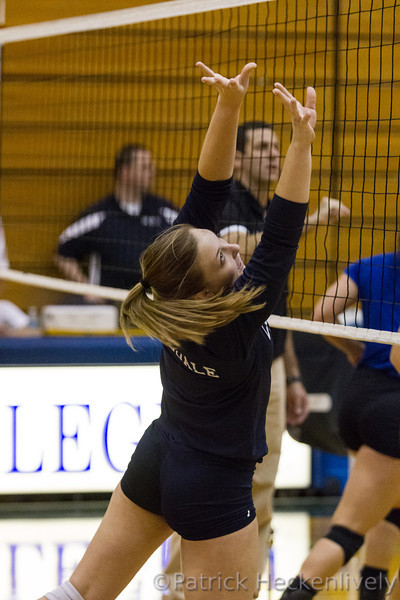 2012-09-14 Hillsdale College Women's Volleyball vs. Grand Valley State