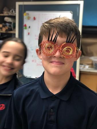 5th Grade - Sculptural Eyewear inspired by Cyrus Kabiru