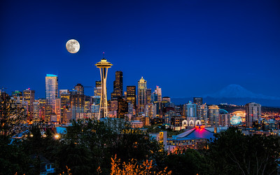 Kerry Park and Queen Anne