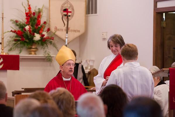 Amanda Musterman's Ordination to Priesthood
