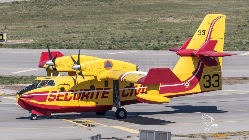 Securite Civile / Canadair CL-415 / F-ZBFN 33