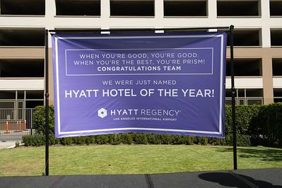 Hyatt Hotel of the Year Award 9/2018