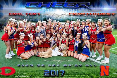 Cheerleaders @ Dalton 1 September 2017