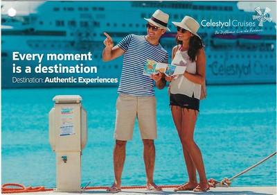 Celestyal Cruises Marketing Postcards