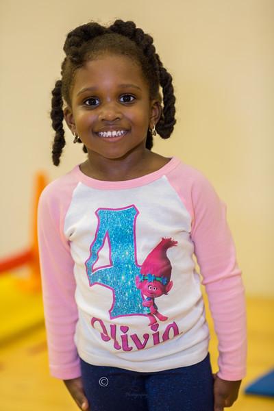 OLIVIA 4TH BIRTHDAY