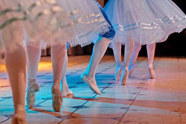 Ecole Imperiale de Ballet russe - petits pas de danse