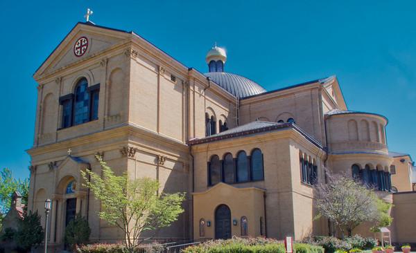 Washington, DC:  Franciscan Monastery of the Holy Land