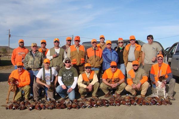 2009 Pheasant season