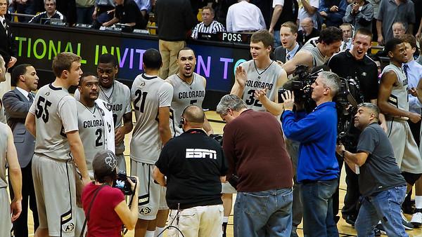 CU vs. Kent State, NIT 3rd round, 3-22-2011
