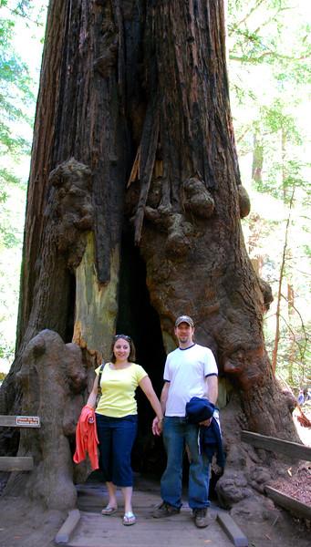 Megan and John at Muir Woods.