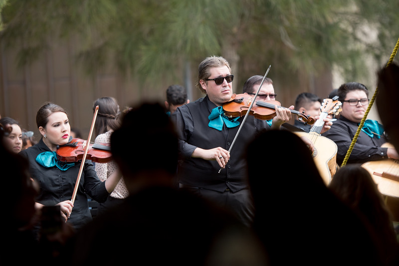 TAMU-CC's Mariachi De Isla performs during the 2018 Inauguration President's Picnic. Friday March 2, 2018 at Texas A&M University-Corpus Christi.