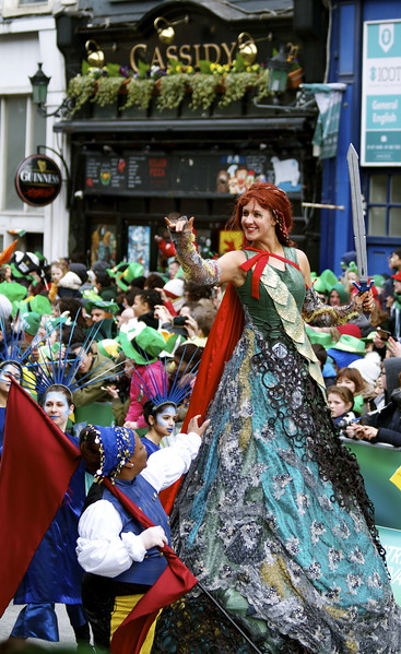 StPatricks Day Parade Dublin