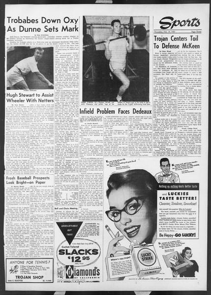 Daily Trojan, Vol. 44, No. 78, February 19, 1953