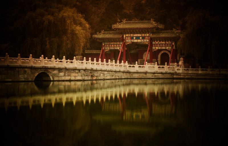 Long Bridge to the Ancient Island