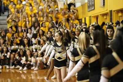 Athena JV Cheer and Basketball