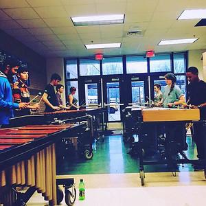 2016-01-27 Drumline Practice