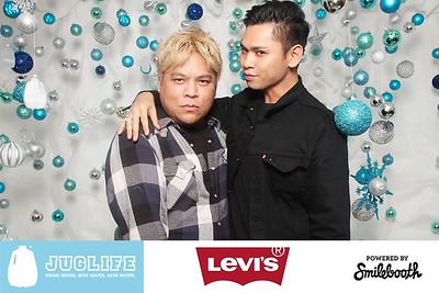 levi's x juglife ugly sweater party