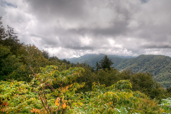 Driving Across The Smokey Mountains and Cades Cove - Sept 9, 2011