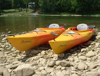 20060730 - Kayaking on Shenandoah River