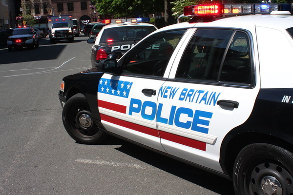 Police car New Britain
