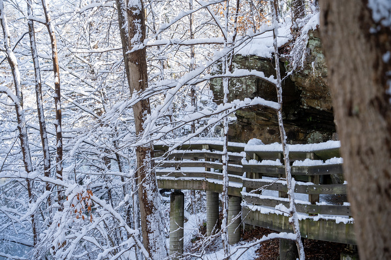 Cuyahoga Valley National Park in the snow
