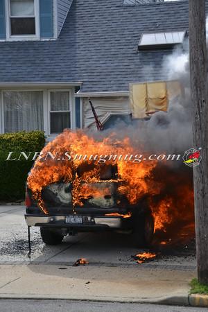 Seaford F.D. Car Fire 3768 Park Ave 3-24-12