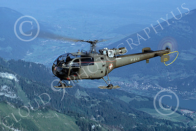 Aerospatiale SA 316/319 Alouette Military Helicopter Pictures