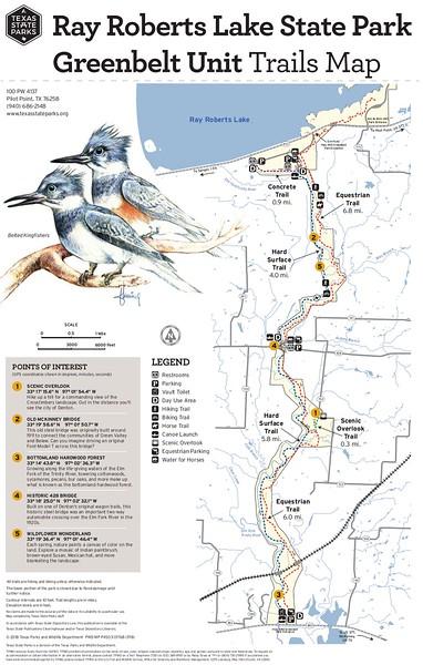 Ray Roberts Lake State Park (Greenbelt Unit Trails)