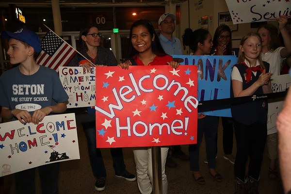 Welcome Home Ceremony September 2019