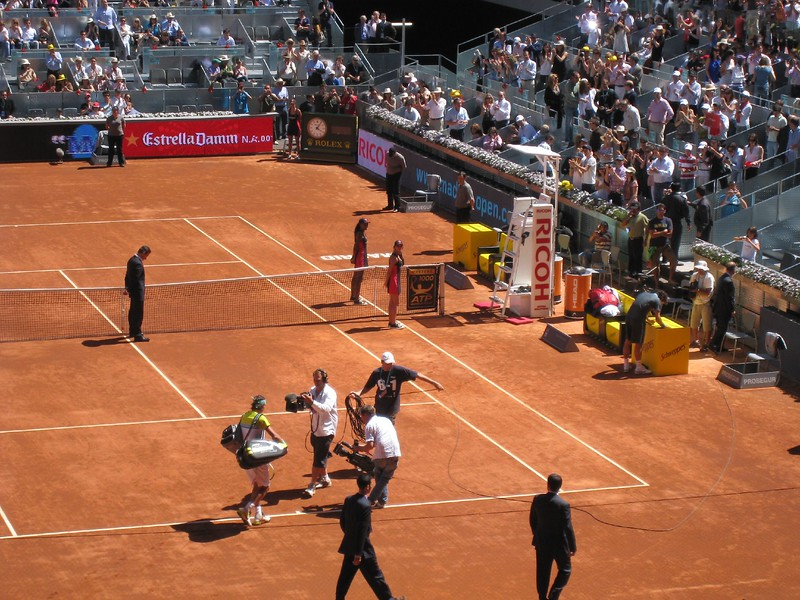 Rafael Nadal entering (3)