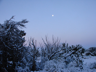 Ghost Ranch Snow 2012-03