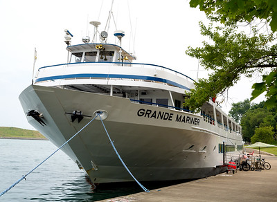 Boarding the Grande Mariner and going to Holland, MI