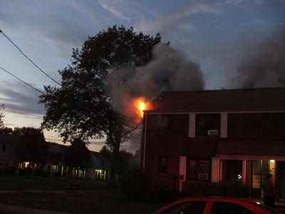 10-31-06 New Milford, NJ - Working Fire