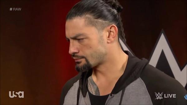 Roman Reigns - Screencaps Raw / July 15,  2019